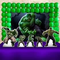 Kit Festa Ouro Hulk  - IMPAKTO VISUAL -