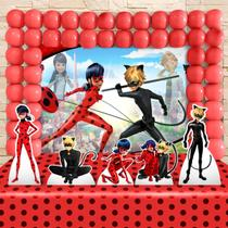 Kit Festa Ouro Miraculous Ladybug - IMPAKTO VISUAL -