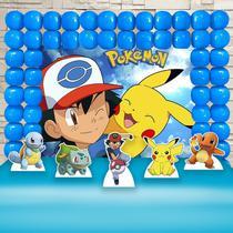 Kit Festa Ouro Pokemon  - IMPAKTO VISUAL -