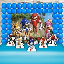 Kit Festa Ouro Sonic  - IMPAKTO VISUAL -
