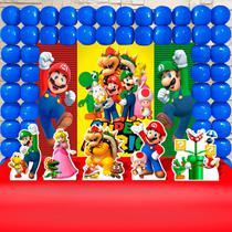 Kit Festa Ouro Super Mario Bros - IMPAKTO VISUAL -