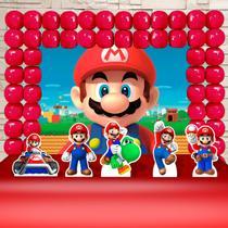 Kit Festa Ouro Super Mario World - IMPAKTO VISUAL -