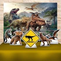 Kit Festa Prata Dinossauros - IMPAKTO VISUAL -