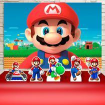 Kit Festa Prata Super Mario World  - IMPAKTO VISUAL -