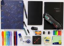 Kit fichário colegial magic pequeno + planner e caderno cambridge e acessórios PILOT - Tilibra