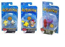 Kit Figura Pokémon Sableye, Pikachu + Hoopa, Neowth+Pancham - Tomy
