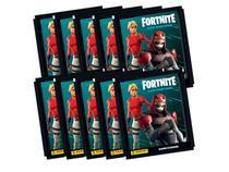 Kit Figurinhas Fortnite Black Frame Series - 10 Envelopes - Panini