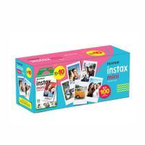 Kit Filme papel fotográfico Instax Mini 100 fotos - Fujifilm