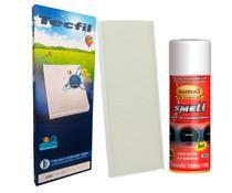 Kit Filtro De Ar Condicionado Gm Astra, Agile, Celta + Limpa Ar Condicionado Smell - Tecfil, Radnaq