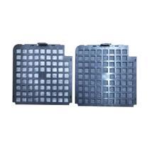 Kit Filtro de Carvão Ativado para Coifas Nardelli Modelo CVC Slim - 02 Peças -