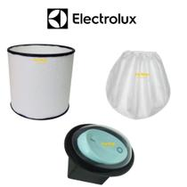 Kit Filtro Permanente + Touca + Botão Aspirador Electrolux Gt3000 -