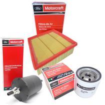 Kit filtros de ar óleo e combustível Ford Motorcraft - New Fiesta Novo Ka e Nova Ecosport -