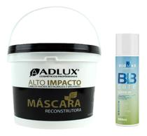 Kit Finalizador 12 Em 1 Liss + Máscara Profissional Orgânica - Adlux