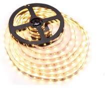 Kit Fita LED 3528 Branco Quente (3000/3500K) 15m - 3 rolos 5m com 3 fontes 12V para alimentação - Gigaled