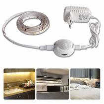 KIT FIta LED com Sensor de Presença Branco Quente 5 Metros + Fonte 2A - LED Force