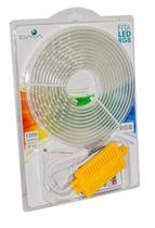 Kit Fita LED RGB 5 Metros + Acessórios - Gaya