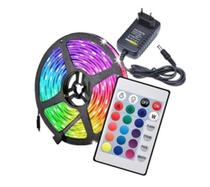 Kit Fita LED RGB com Fonte Completo 5 metros - luzledcuritiba