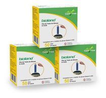 Kit Fita Medição De Glicose G423s Bioland 3 Caixas 50 Fitas -