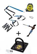 Kit Fita Treinamento Suspenso Suporte Teto Parede Tipo Trx Cross Training - Be Stronger