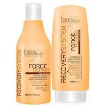 Kit Force Repair Shampoo e Condicionador Forever Liss -