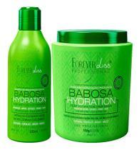 Kit Forever Liss Babosa Shampoo 300ml + Máscara 950g -