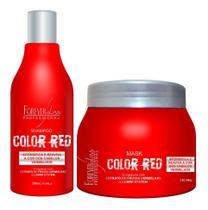 Kit Forever Liss Color Red Manutenção Cabelos Vermelhos -