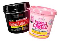 Kit Forever Liss - Desmaia Cabelo 350g + Anabolizante 240g -