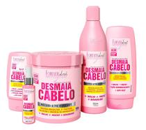 Kit Forever Liss Desmaia Cabelo Completo 950g -