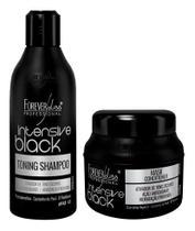 Kit Forever Liss Intensive Black Shampoo + Máscara 250g -