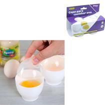 Kit Forma Para Cozinhar Ovo Omelete Microondas 2 unidade Cozinhe em 30 a 60 segundos - Western