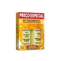Kit Fortalecimento Capilar Gota Dourada Antiqueda Shampoo e Condicionador -