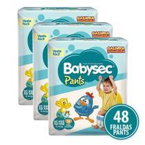 Kit Fralda Babysec Galinha Pintadinha Pants Xg/Xxg Com 48 Fraldas - Softys