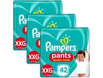 Kit Fralda Pampers Ajuste Total Pants - Calça Tam. XXG 11 a 15kg 126 Unidades