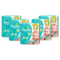 Kit Fralda Pampers Confort Sec Tamanho P com 140 unidades - P&G
