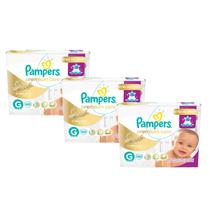 KIt Fralda Pampers Premium Care G com 120 Unidades