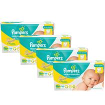 Kit Fralda Pampers RN Plus com 152 unidades