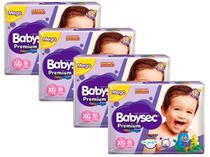 Kit Fraldas Babysec Premium Galinha Pintadinha - Tam. XG 11 a 14kg 4 Pacotes com 26 Unidades Cada