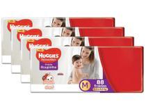 Kit Fraldas Huggies Supreme Care Roupinha Calça - Tam. M 5,5kg a 9,5kg 4 Pacotes com 88 Unid Cada