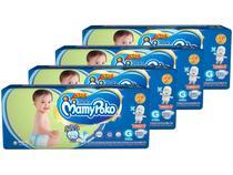 Kit Fraldas MamyPoko Fralda-Fita Tam. G - 9 a 14kg 4 Pacotes com 30 Unidades Cada