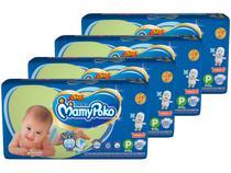 Kit Fraldas MamyPoko Fralda-Fita Tam. P - 3 a 8kg 4 Pacotes com 40 Unidades Cada