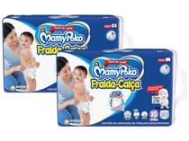 Kit Fraldas MamyPoko Super Calça Tam. XG - 12 a 17kg 2 Pacotes com 56 Unidades Cada