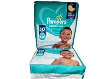 Kit Fraldas Pampers confort sec kids 60 unid XXG + de 14 Kg -