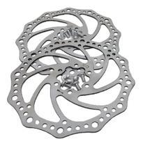 Kit Freio A Disco Mecânico Bicicleta Pinça + Disco Alumínio - Isapa