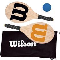 Kit frescobol c/capa mesh lr/pt wil42993 - Wilson