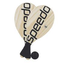 Kit Frescobol Popular Speedo com 2 Raquetes e 1 Bolinha -