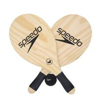 Kit Frescobol Speedo Popular 2 Raquetes + Bola