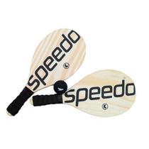 Kit Frescobol Speedo Popular 2 Raquetes + Bola -