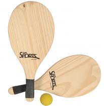 Kit Frescobol Tênis de Praia - Bel Sports -