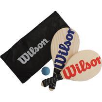 Kit Frescobol Wilson c/ Capa Mesh KF0003VMAZ -