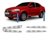 Kit Friso Para-Choque Fiat Palio/Weekend/Siena 2008 a 2012 CROMADO - GF203 - G Compenente